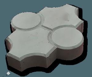 Клевер рельефный