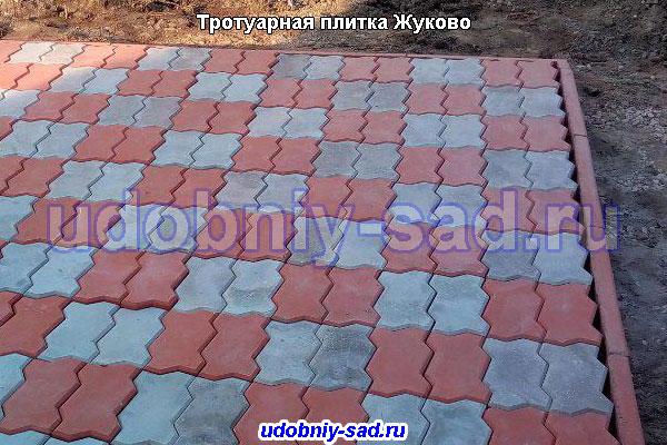 Тротуарная плитка Жуково
