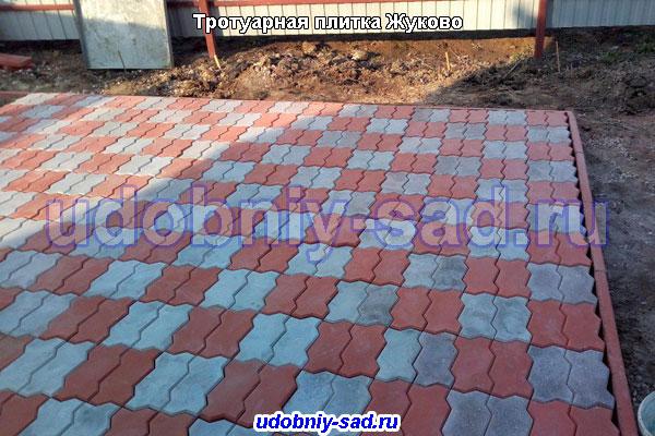 Укладка тротуарной плитки Волна в Жуково
