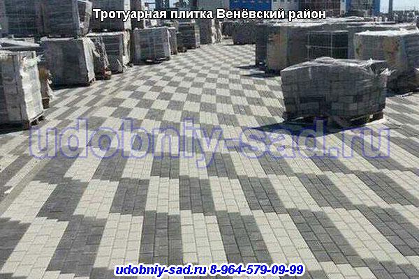 Тротуарная плитка Венёвский район