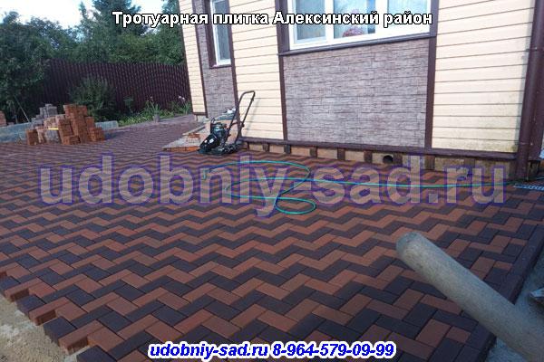 Производство тротуарной плитки в Алексинском районе Тульской области