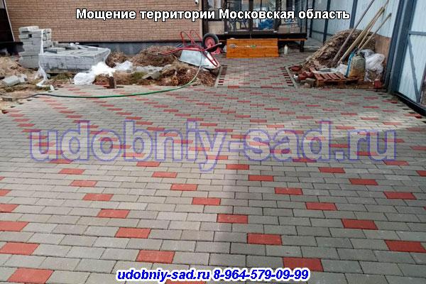 Производство и укладка тротуарной плитки в Московской области