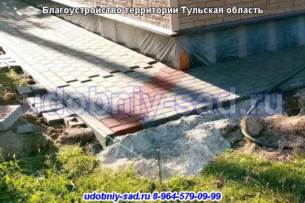 Благоустройство территории в деревне Адашево Венёвский район Тульской области