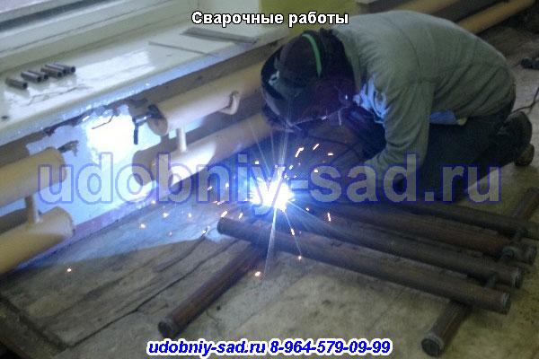 Сварочные работы в Московской области